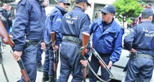 شرطة جزائرية