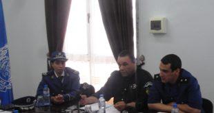 ضباط الامن يشرحون للصحافة المحلية بورقلة تدابير رمضان
