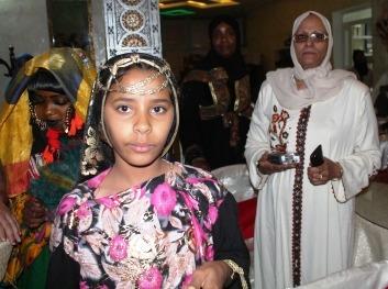 السيدة فظيلة باعمر في حفل كسوة اليتيم