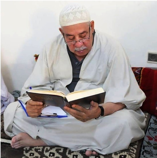 سيدي محمد العيد التجاني شيخ الزاوية التجانية بتماسين
