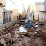 حجم الاضرار بعد الفيضان