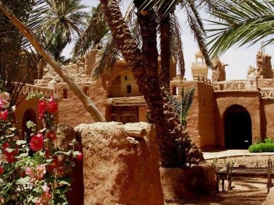 منظر من قصر تاغيت