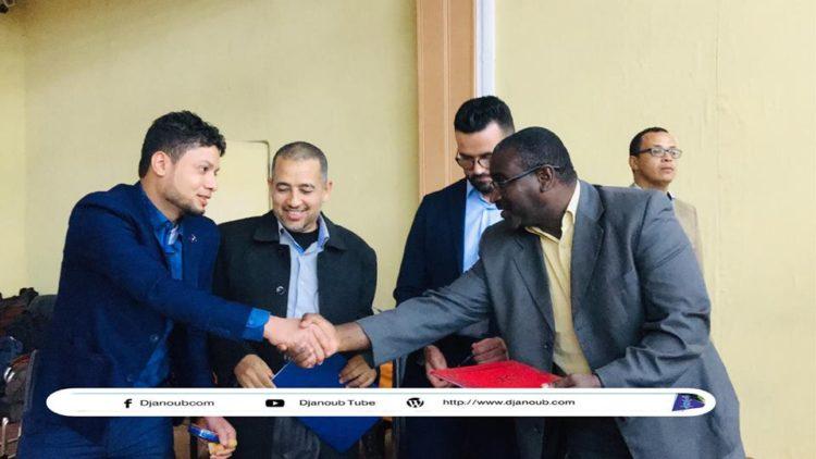 توقيع إتفاقية بين جمعية المعصومة ومعهد عين البيضاء