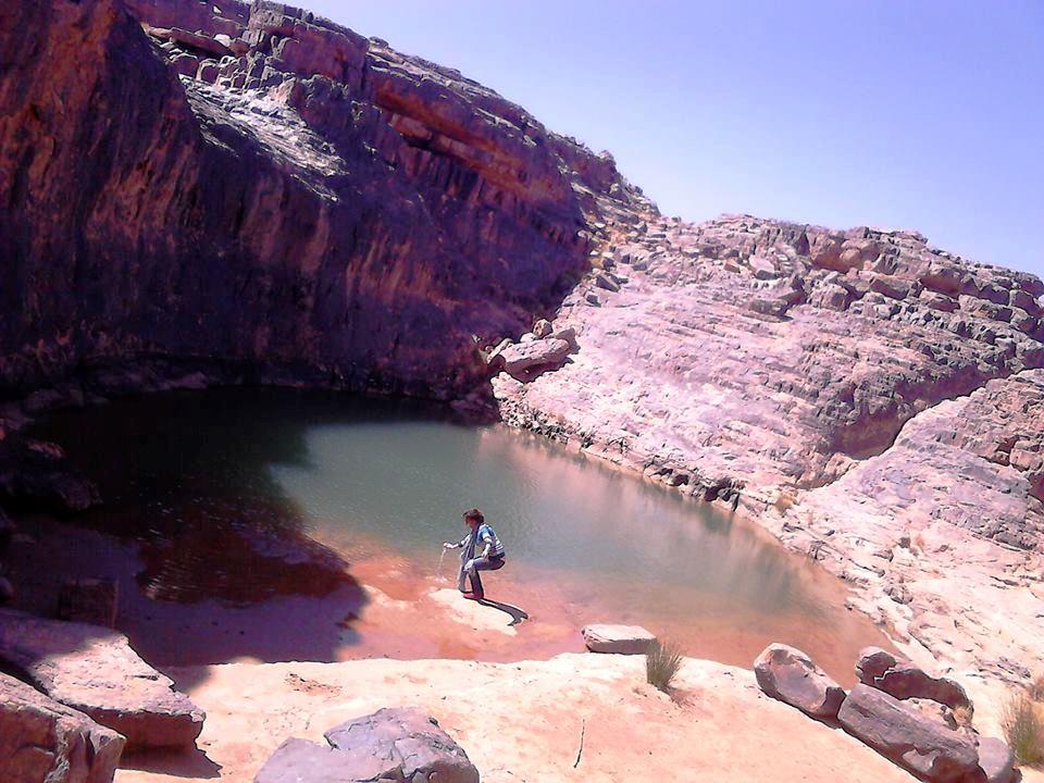 في بحيرة إهرير