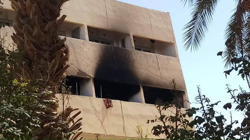 حريق يمستشفى ورقلة