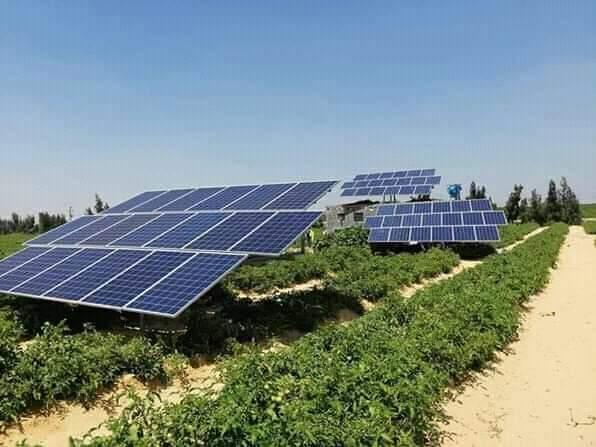 تزويد المحيطات الفلاحية بالطاقة الشمسية