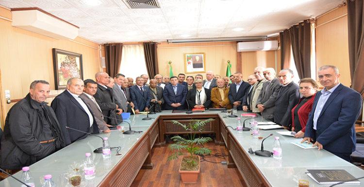 لقاء وزير التربية مع جمعيات أولياء التلاميذ في 12 مارس 2020 بالجزائر