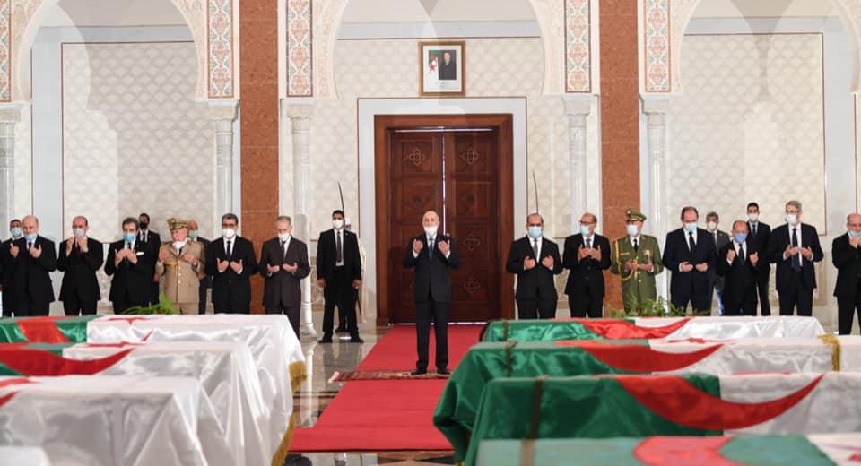 رئيس الجمهورية يترحم على ارواح الرفات