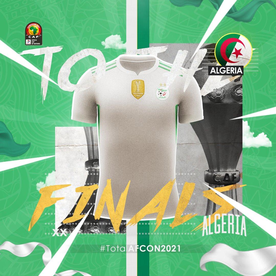 تأهل المنتخب الجزائري لنهائيات كأس أمم إفريقيا-2021 لكرة القدم بالكاميرون