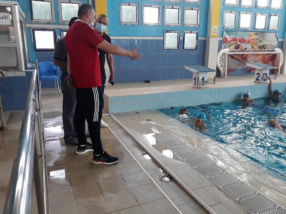 محمد حكيم بوغادو,رئيس الاتحادية الجزائرية للسباحة,مشروع أكاديمية للسباحة بالجنوب