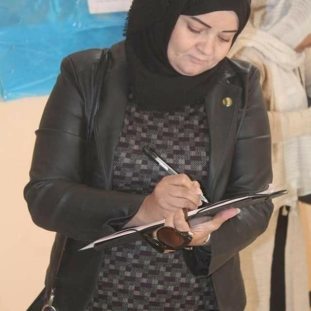 رقية بن كريمة,حزب الكرامة,ورقلة,تشريعيات 12 جوان 2021